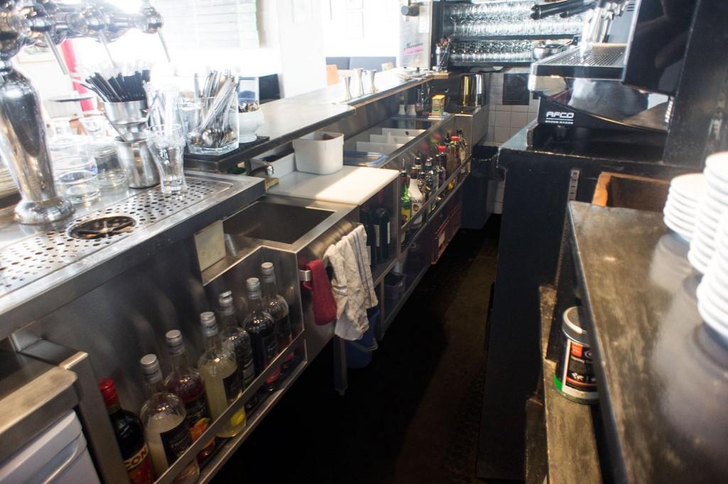 agencement inox brasserie sur mesure complet