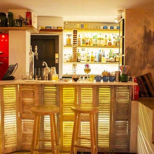 decoration bar à cocktail