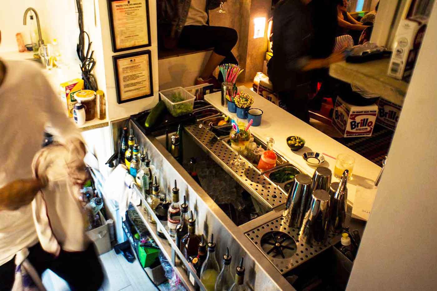 station cocktail inox et tirage bière