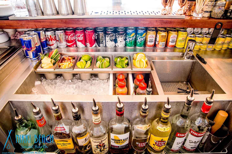 station cocktail optimisée