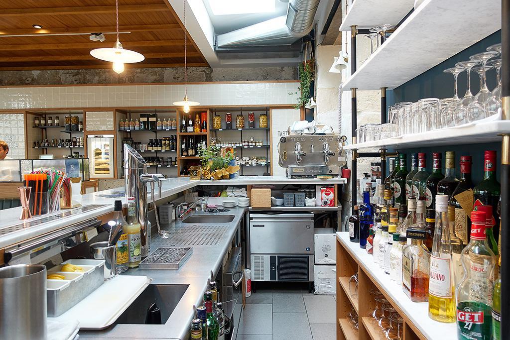 plan de travail brasserie en inox, standard Bar Circus