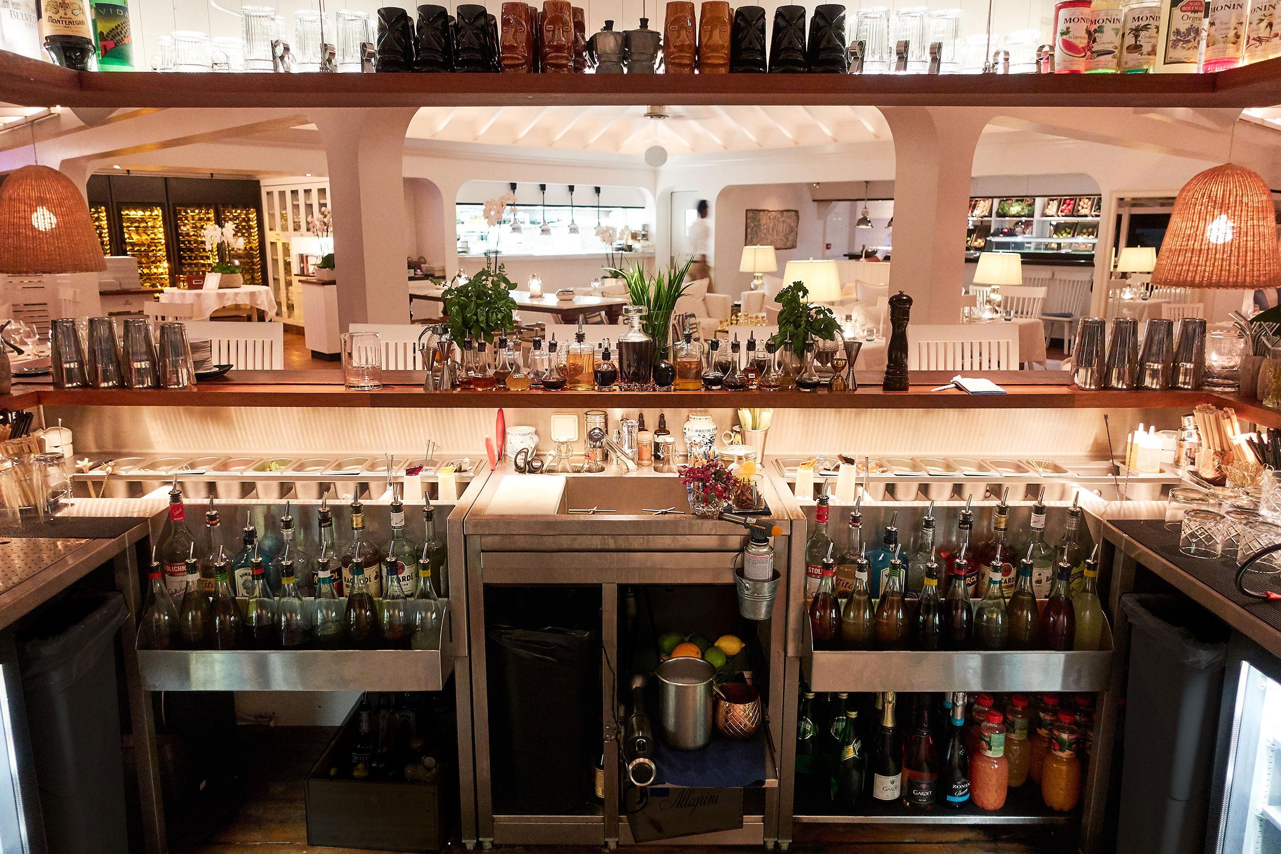 station cocktail inox sur mesure aux antilles françaises