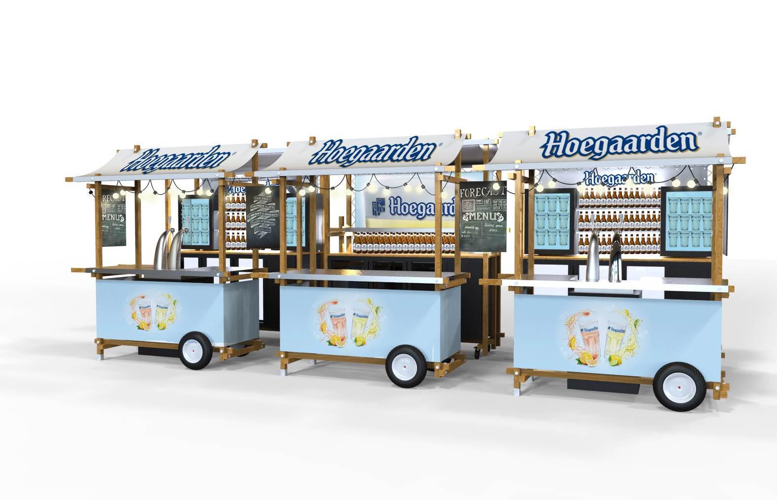 conception et fabrication stand événementiel bière