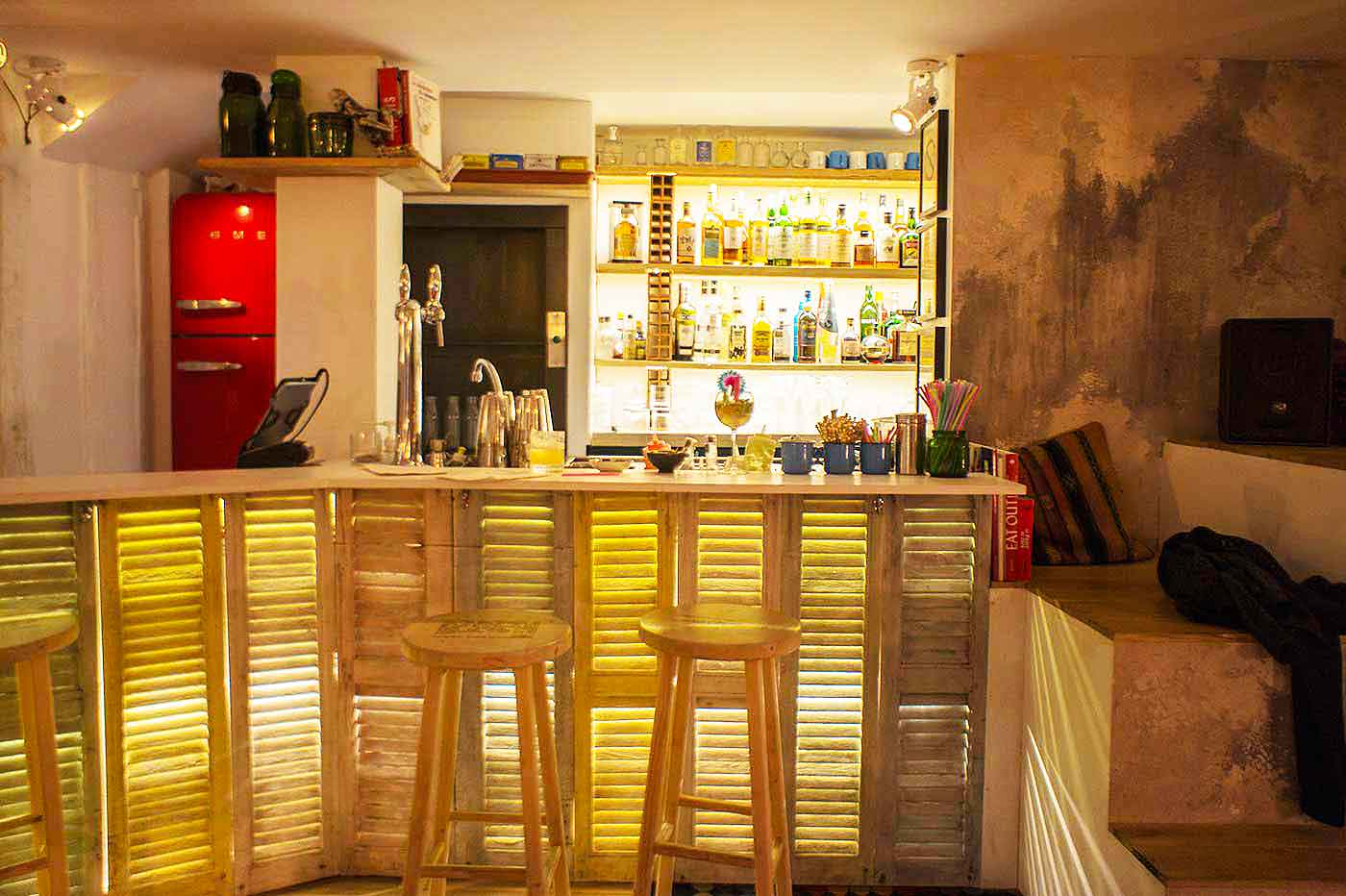 decoration bar à cocktail