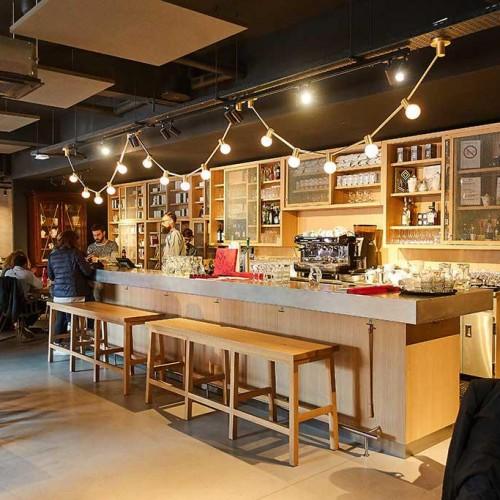 création de comptoir de bar