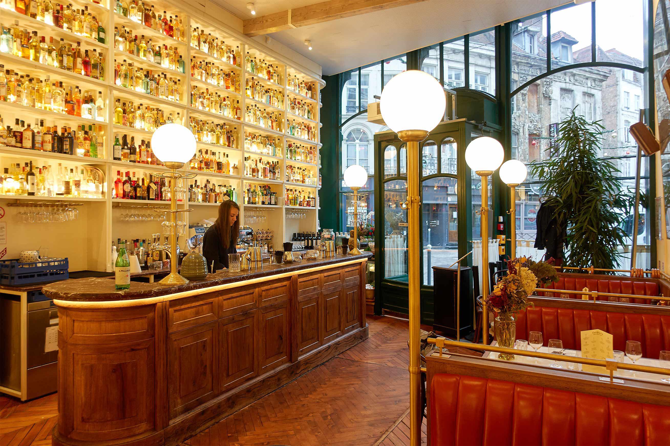 big mamma lille et son agencement de bar réalisé par Ecce Gusto