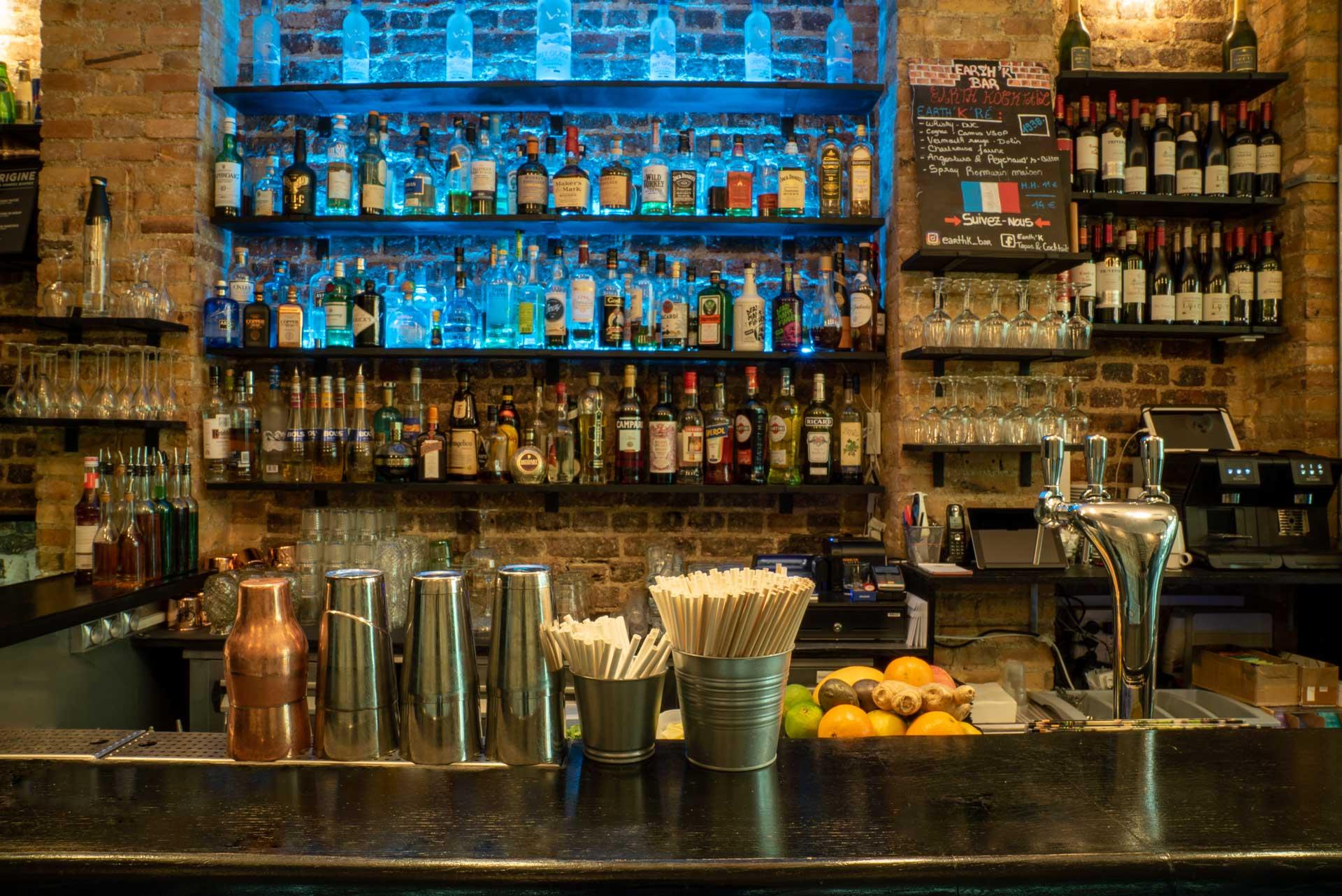 installateur bar à paris